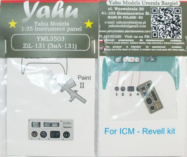 YML3503 Zil-131 etyk