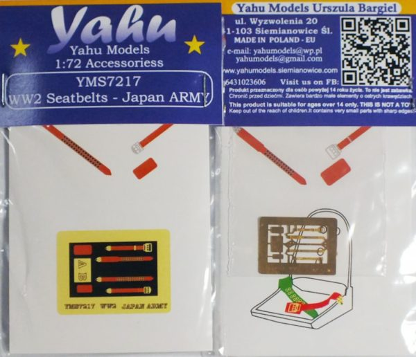 YMS7217 Japan Army etyk