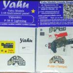 YMA4891 P-38H Lightning etyk