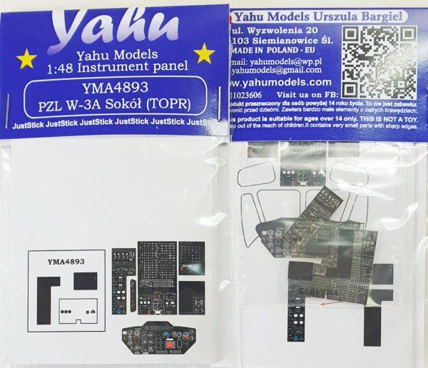 YMA4893 W-3 TOPR etyk