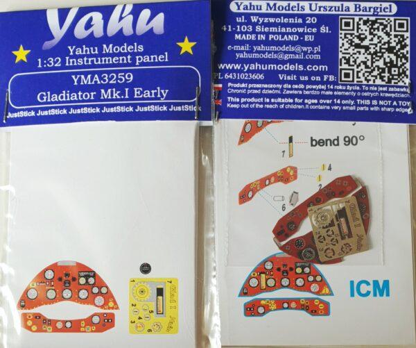YMA3259 Glad I etyk