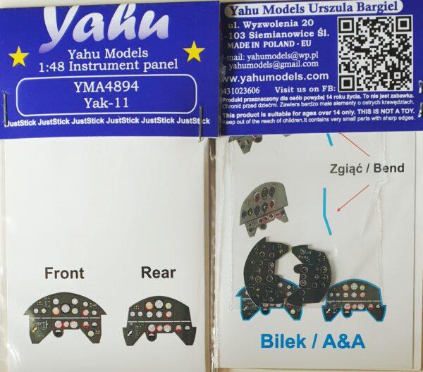 YMA4894 Yak-11 etyk
