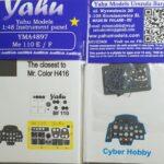 YMA4897 Me 110 EF etyk